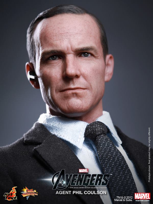 The Avengers Agent Phil Coulson hot toys