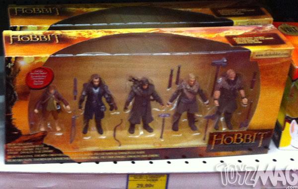 The Hobbits Bilbo les jouets