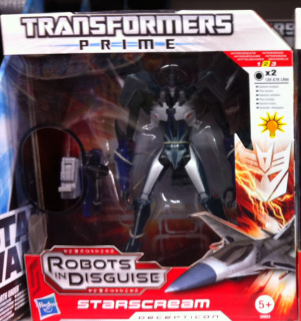 Transformers Prime  Starscream