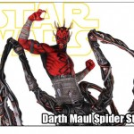 darth maul spider statue