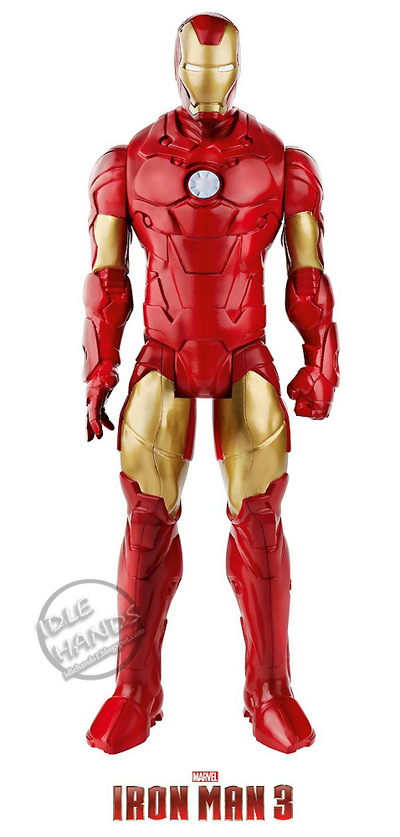 12 inch iron man 3 figure