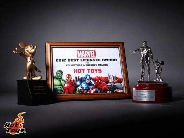 Hot toys disney marvel awards 2012
