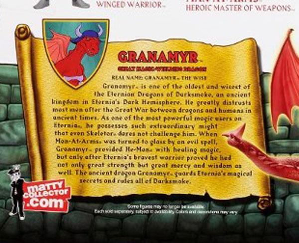 Granamyr MOTUC la bio