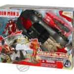 Iron Man 3 visuels des premiers jouets Hasbro