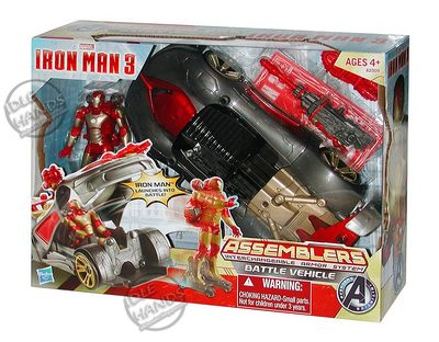Hasbro Iron Man 3 Assemblers Battle Vehicle