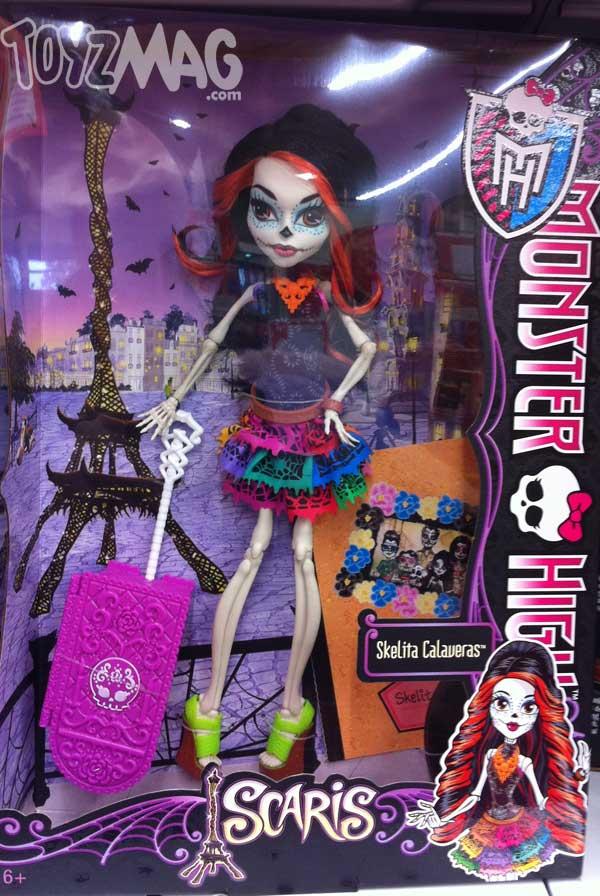 Monster High Scari skelita calaveras