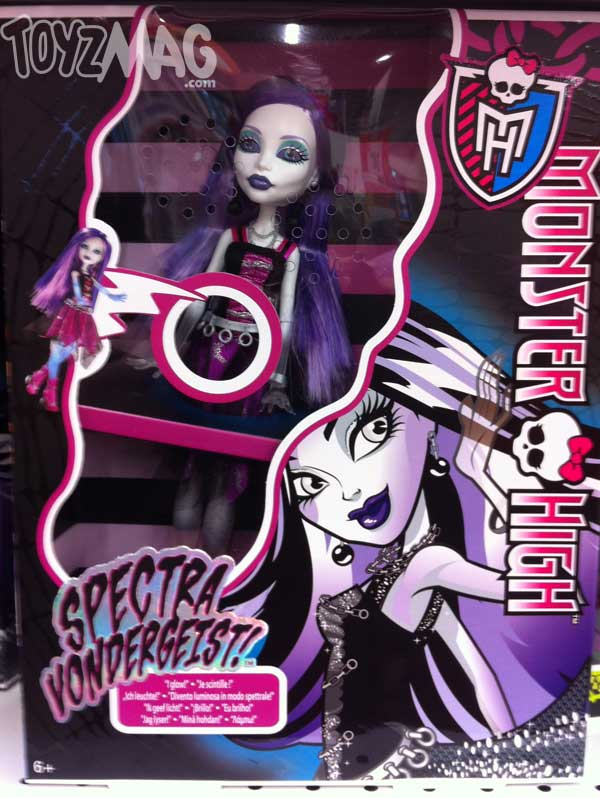 spectra Ghouls Alive monster high