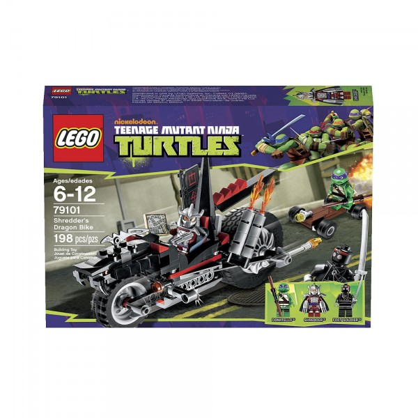LEGO Teenage Mutant Ninja Turtles Shredder's Dragon Bike
