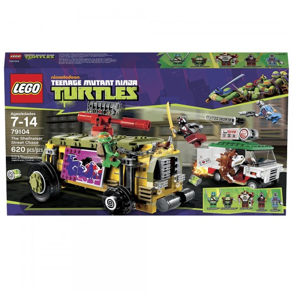 LEGO Teenage Mutant Ninja Turtles The Shellraiser Street Chase