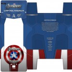 Captain America par Neca le packaging