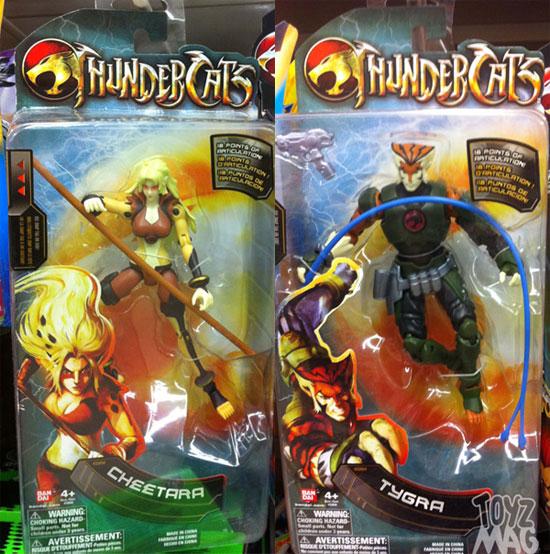 Tygra et Cheetara Thundercats bandai