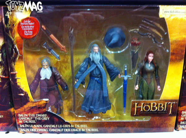 the hobbit 3pack gandal tauriel balin