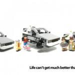 Retour vers le Futur la nouvelle licence Lego