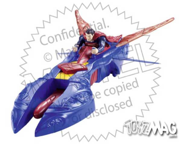 Man of steel Supeman Mattel (12)