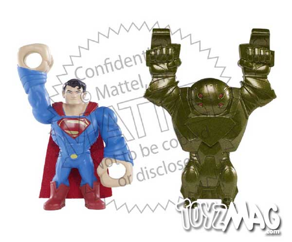 Man of steel Supeman Mattel quick shot