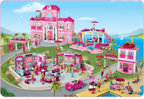 Mega Bloks Barbie Mattel 2013 (10)