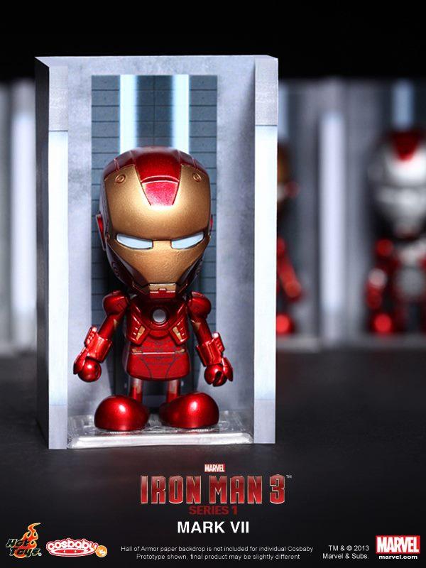 hot toys iron man 3 cosbabies series 1 - 9