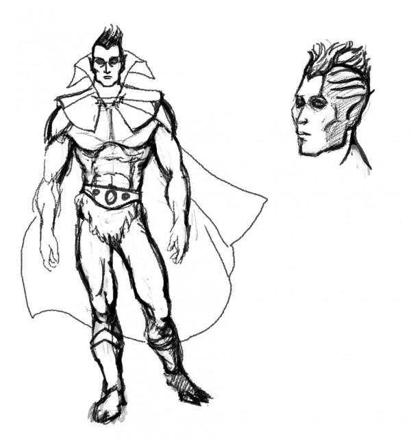 karak-nul - sketches