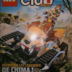Un poster des mini-figurines Star Wars 2013 dans le Lego club Magazine de janvier
