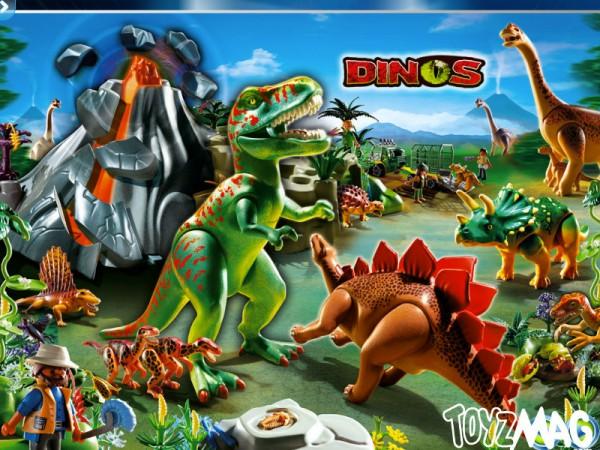 playmo 2013 dinosaures