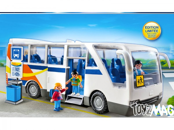 playmo véhicule série limitée 2013 car scolaire