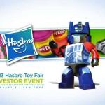 NYTF 2013 : la presentation Hasbro