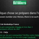 Kotobukiya s'installe en France
