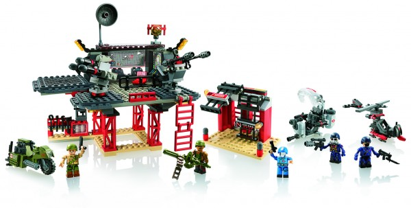 KRE-O G.I. JOE BATTLE PLATFORM ATTACK Set A3365