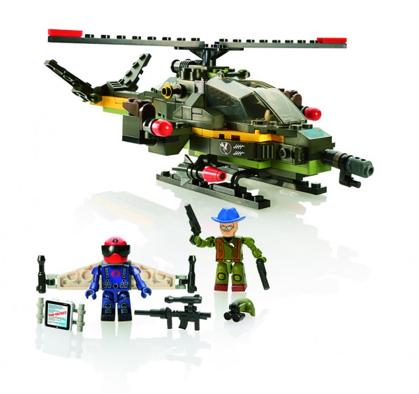 KRE-O G.I. JOE DRAGONFLY XH-1 Set A3363