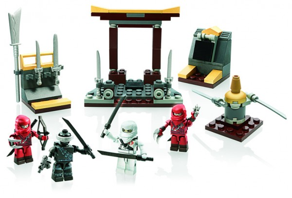 KRE-O G.I. JOE  NINJA TEMPLE BATTLE Set A3362