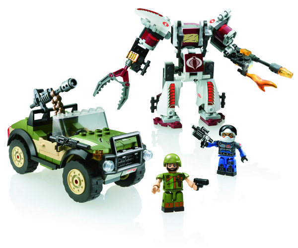 KRE-O G.I. JOE SERPENT ARMOR STRIKE Set A2354