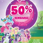 Bon plan : My Little Pony 50% remboursé
