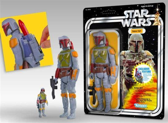 The Rocket Firing Boba Fett 12 Retro Kenner Figure