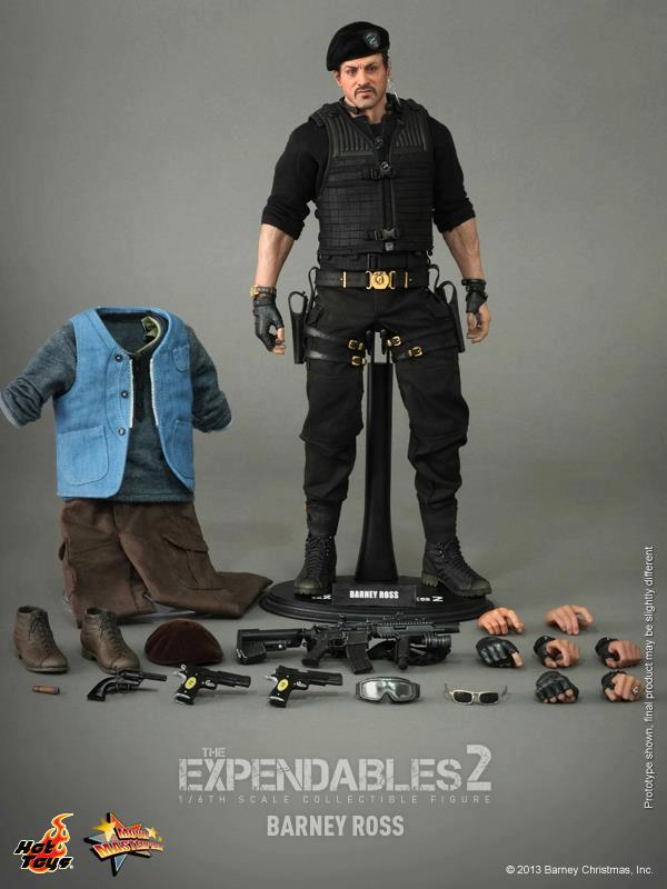 hot toys expendables 2 barney ross 18