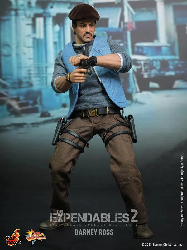 hot toys expendables 2 barney ross 4
