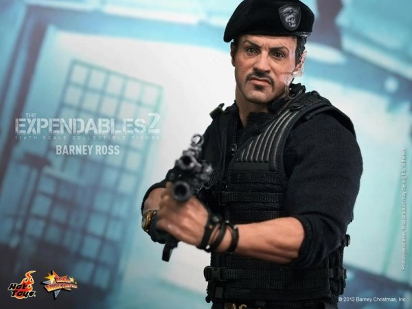 hot toys expendables 2 barney ross 7