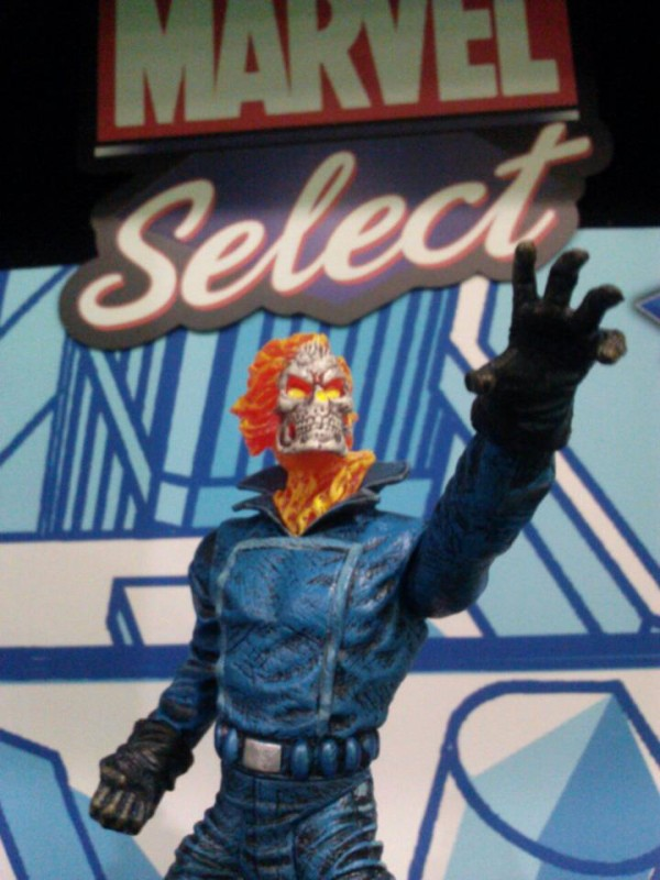 marvel select ghost rider