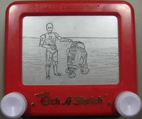 telecran etch a sketch andré cassagnes