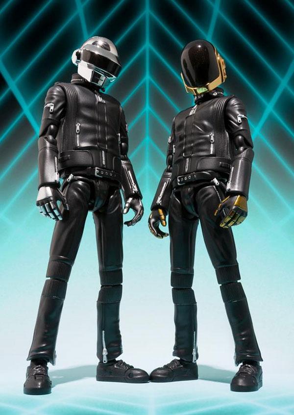 Daft Punk S.H Figure Art Bandai