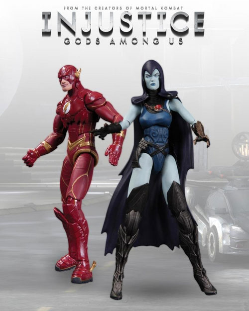 injustice Flash Raven