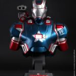 Iron Man 3: 1/4th scale Iron Patriot Collectible Bust