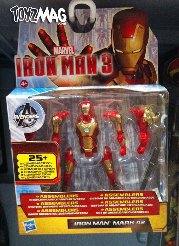 Iron man  3 jouets Hasbro
