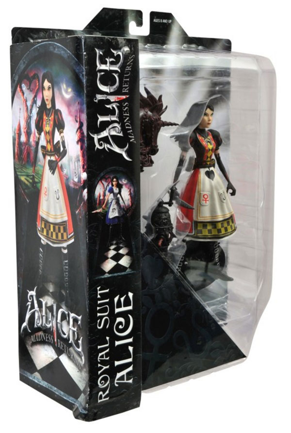 Alice figures is Royal Suit Alice - American McGee's Alice: Madness Returns - Diamond Select Toys