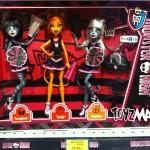 Monster High le pack des 3 soeurs est également dispo en magasin