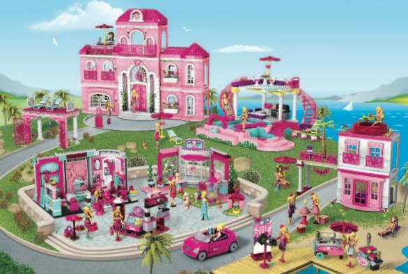 barbie-Megablok