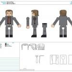 Iron Man 3 : les control Arts des Minimates