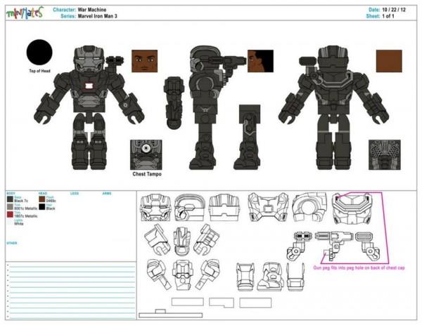 iron man 3 control art war machine