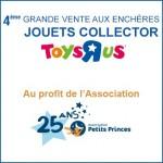Une vente aux enchères de jouets collector au profit des enfants malades