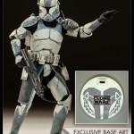 Star Wars The Clone Wars : Sideshow ouvre les précos du Commander Wolffe