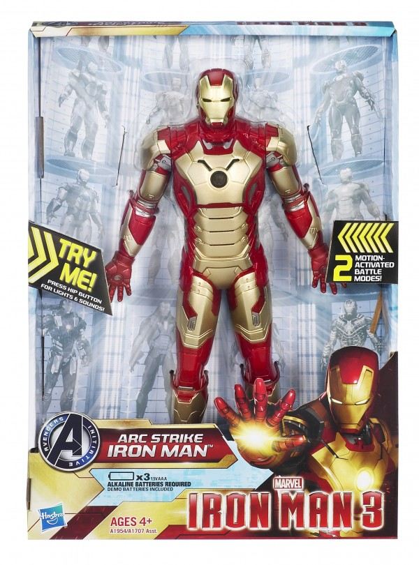 "Hasbro ARC Strike Iron Man Mk 42 (10"")"